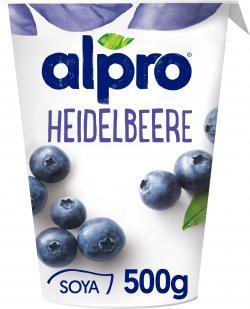 Alpro Soja-Joghurt Heidelbeere