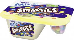Nestlé Mix-in Smarties & Vanillejoghurt (120 g) - 4025500127596