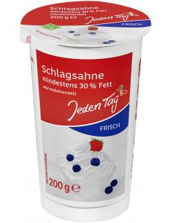 Jeden Tag Frische Schlagsahne 30% (200 g) - 4306188365709