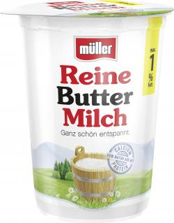 Müller Reine Buttermilch 1%