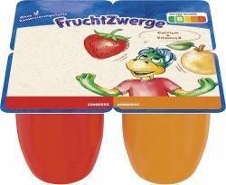Danone Fruchtzwerge Maxi Erdbeere + Aprikose (4 x 100 g) - 4009700019585