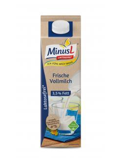 Minus L Frische Vollmilch 3,8% (1 l) - 4062800008675