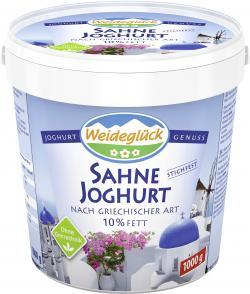 Weideglück Sahne Joghurt nach griechischer Art 10% (1 kg) - 4028900004702