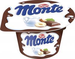 Zott Monte Milch-Dessert Schoko