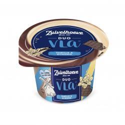 Zuivelhoeve Duo Vla Genuss Vanille-Schokolade (200 g) - 8711399013107