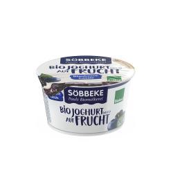 Söbbeke Bio Joghurt auf Frucht Blaubeere-Cassis (200 g) - 4008471504573