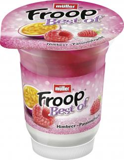 Müller Froop Best of Himbeer-Passionsfrucht (150 g) - 4025500192914