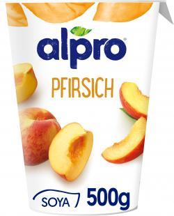 Alpro Soja-Joghurt Pfirsich