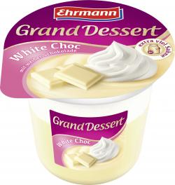 Ehrmann Grand Dessert White Choc