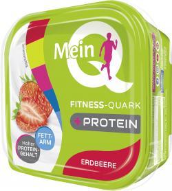 Mein Q Fitness-Quark Erdbeere  (180 g) - 4103840019297