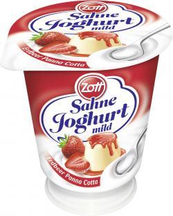 Zott Sahnejoghurt Erdbeer Pana Cotta  (150 g) - 4014500503837