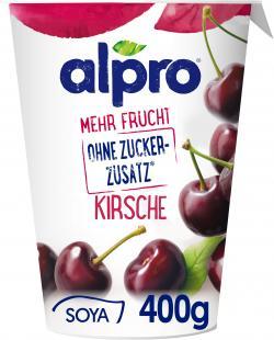 Alpro Soya mehr Frucht Kirsche