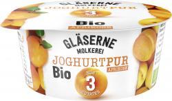 Gläserne Molkerei Bio-Joghurt Pur Aprikose