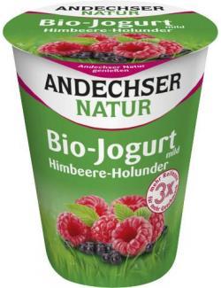 Andechser Natur Bio-Joghurt Himbeere-Holunder