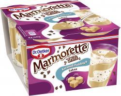 Dr. Oetker Marmorette Karamell Pudding mit Splits