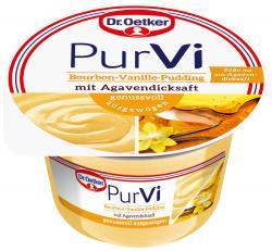 Dr. Oetker PurVi Bourbon-Vanille-Pudding mit Agavendicksaft