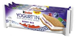 Kinder Yogurt'In Berry Mix