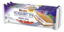 Kinder Yogurt'In Berry Mix