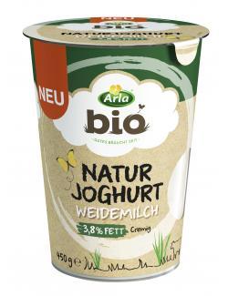 Arla Bio Naturjoghurt aus Weidemilch 3,8%