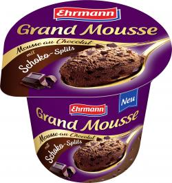 Ehrmann Grand Mousse mit Schokosplits