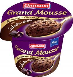 Ehrmann Grand Mousse mit Schokosplits