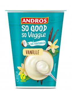 Andros So Good So Veggie Joghurtalternative Vanille