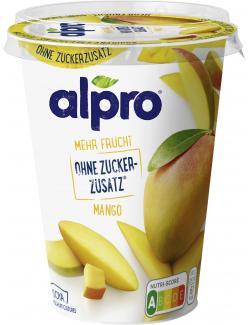 Alpro Soja-Joghurtalternative mehr Frucht Mango