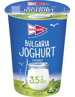 Hansano Bulgaria Joghurt stichfest 3,5%