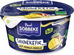 Söbbeke Bio Sahnekefir mild auf Mango-Vanille