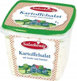Salatkönig Kartoffelsalat mit Gurke und Zwiebel
