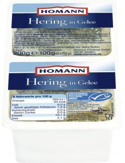 Homann Hering in Gelee (200 g) - 4030800475063
