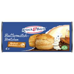 Knack & Back Buttermilch-Brötchen