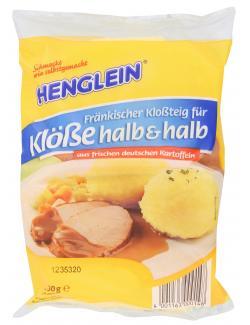 Henglein Fränkischer Kloßteig für Klöße halb & halb (750 g) - 4001163000100