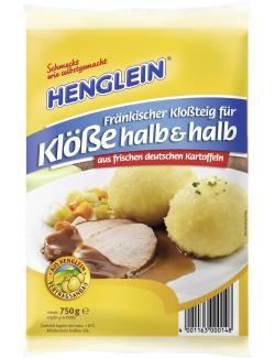 Henglein Fränkischer Kloßteig für Klöße halb & halb