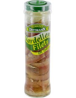 Feinkost Dittmann Sardellenfilets in Salz