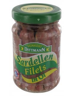 Feinkost Dittmann Sardellenfilets in Öl (100 g) - 4002239220507