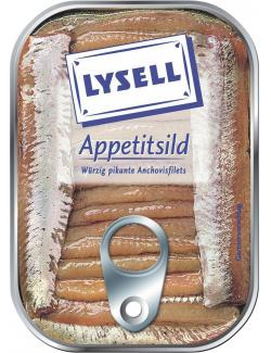 Lysell Appetitsild Anchovisfilets (65 g) - 4039300054815