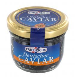 Friedrichs Premium Deutscher Caviar aus Seehasenrogen (100 g) - 40636115