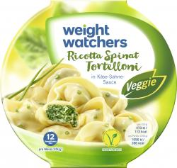 Weight Watchers Ricotta Spinat Tortelloni (350 g) - 9005545002190