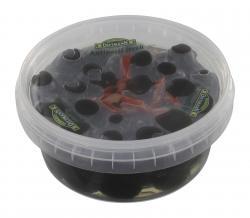 Feinkost Dittmann Antipasti fresh geschwärzte Oliven ohne Stein (250 g) - 4002239933704
