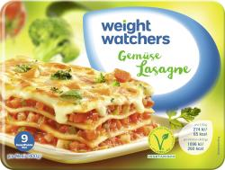 Weight Watchers Gemüse-Lasagne