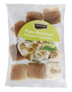 Dermaris Pizza-Brötchen Mozzarella-Kräuterbutter (250 g) - 4260152949374