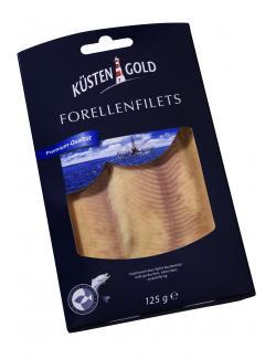 Küstengold Forellenfilets (125 g) - 4250426216448