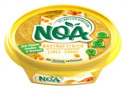 NOA Brotaufstrich Linse-Curry