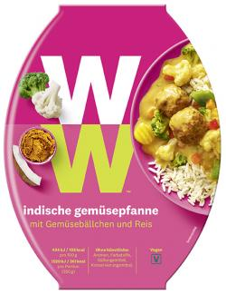 Weight Watchers Veggie Indische Gemüsepfanne (350 g) - 9005545000622