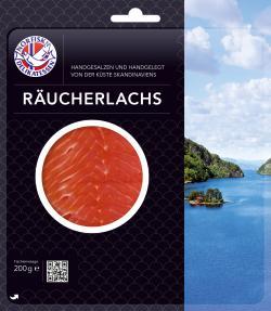 Norfisk Räucherlachs (200 g) - 4260046743200