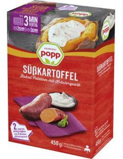 Popp Süßkartoffel Baked Potatoes mit Kräuterquark