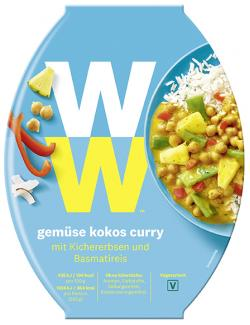 WW - Wellness that Works Gemüse-Kokos-Curry