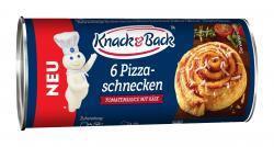 Knack & Back Pizzaschnecke Tomate