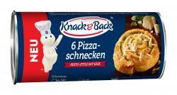Knack & Back Pizzaschnecken Pesto-Style mit Käse